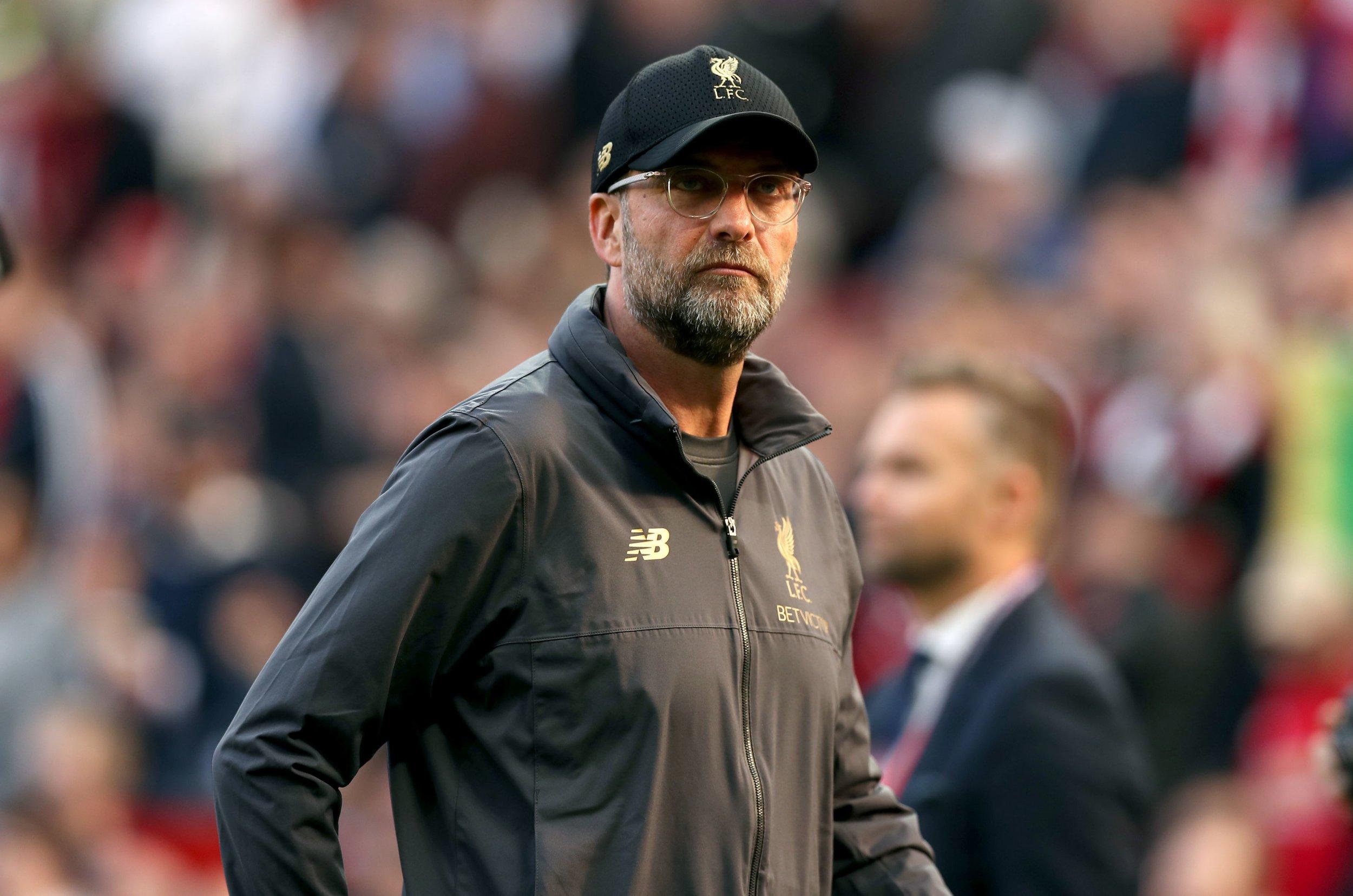 Liverpool manager Jurgen Klopp fuming with Jordan Henderson and Sadio Mane after Man Utd draw
