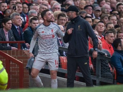 Liverpool boss Jurgen Klopp rubbishes 'bulls***' claims he shouted at Jordan Henderson & Sadio Mane