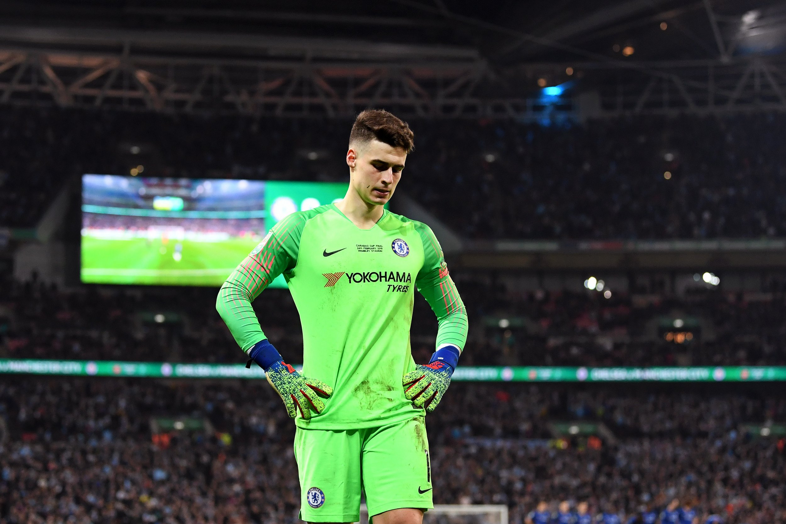 Real Madrid are preparing to swoop for Chelsea's Kepa Arrizabalaga after giving up on David de Gea