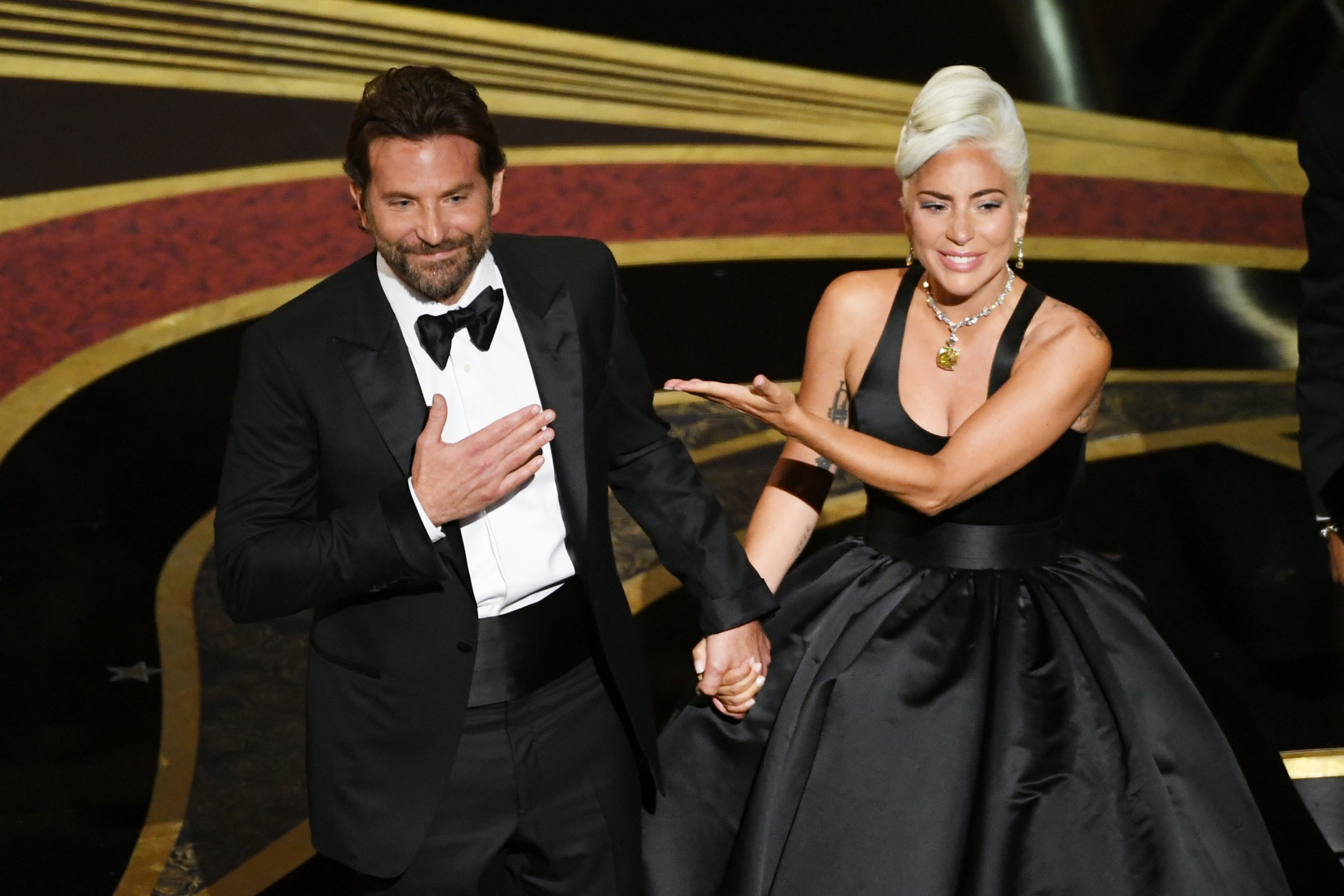 Lady Gaga shares Bradley Cooper's encouraging message before Oscars performance