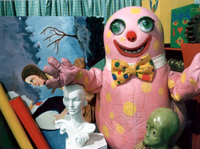 TELEVISION PROGRAMME 'ON YOUR MARKS MR. BLOBBY'.