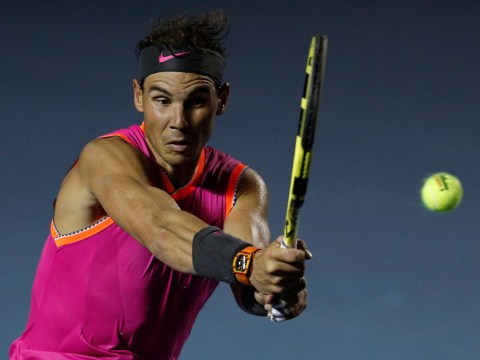 Rafael Nadal reacts after setting up thrilling Nick Kyrgios encounter in Acapulco