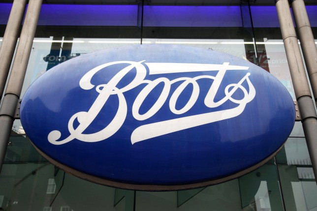 A branch of Boots on Oxford Street, central London.