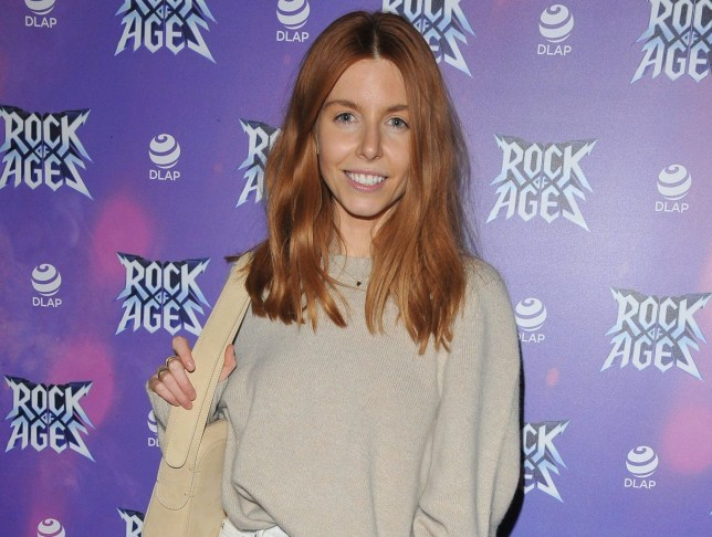 Stacey Dooley at 'Rock Of Ages'