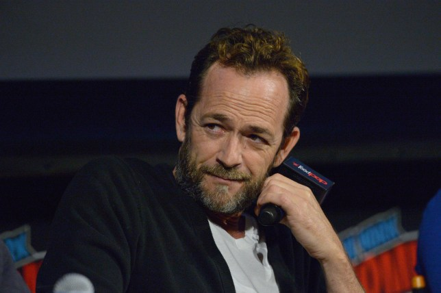 Luke Perry star of Beverly Hills 90210 and Riverdale