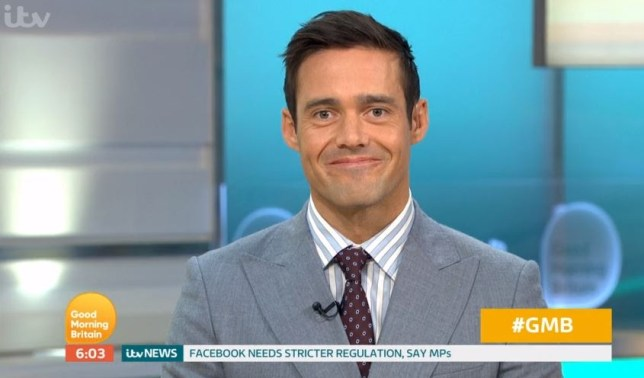 Spencer Matthews made his Good Morning Britain debut (Picture: ITV)