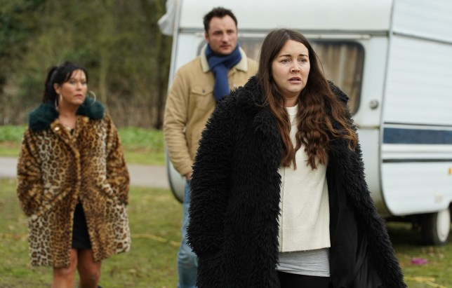 Stacey Fowler in EastEnders played by Lacey Turner