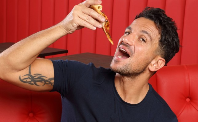 Peter Andre in ITV's The Junk Food Experiment