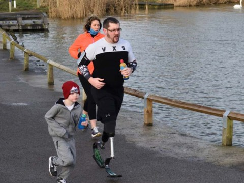 Runner born a double amputee wants to show people they can do more than they think