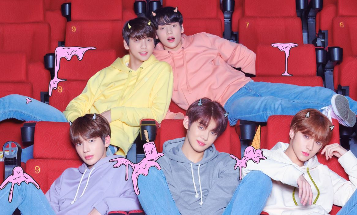 TXT show off their playful side in cinema as concept images for debut album are released
