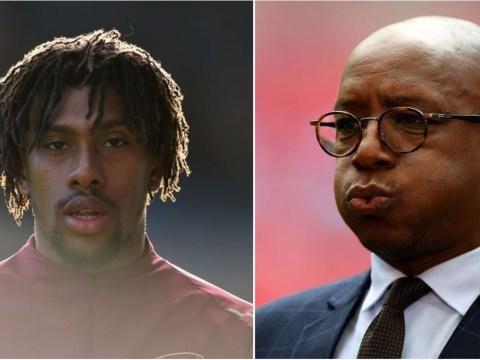 Ian Wright slams 'embarrassing' Arsenal fans over 'unfair' Alex Iwobi criticism