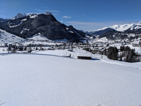 Find your zen in the snow-topped peace and quiet of Gstaad in Switzerland