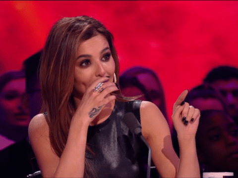 Cheryl in floods of tears on The Greatest Dancer as she weeps over two performances