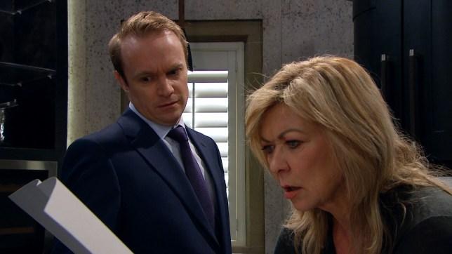 Kim Tate gets a huge shock amid Joe Tate mystery in Emmerdale