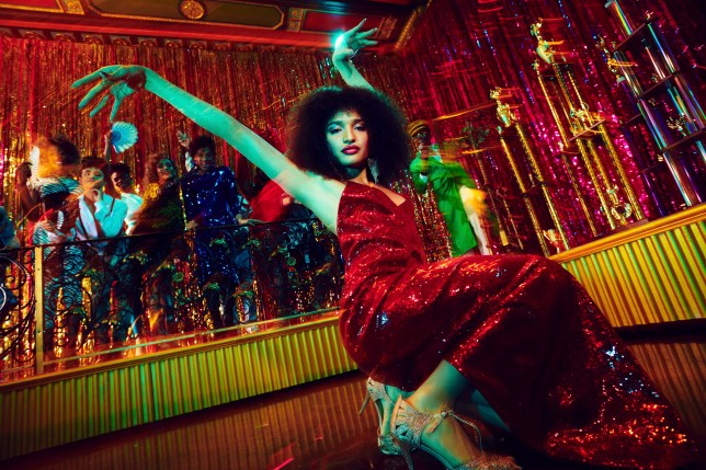 Indya Moore in FX's Pose