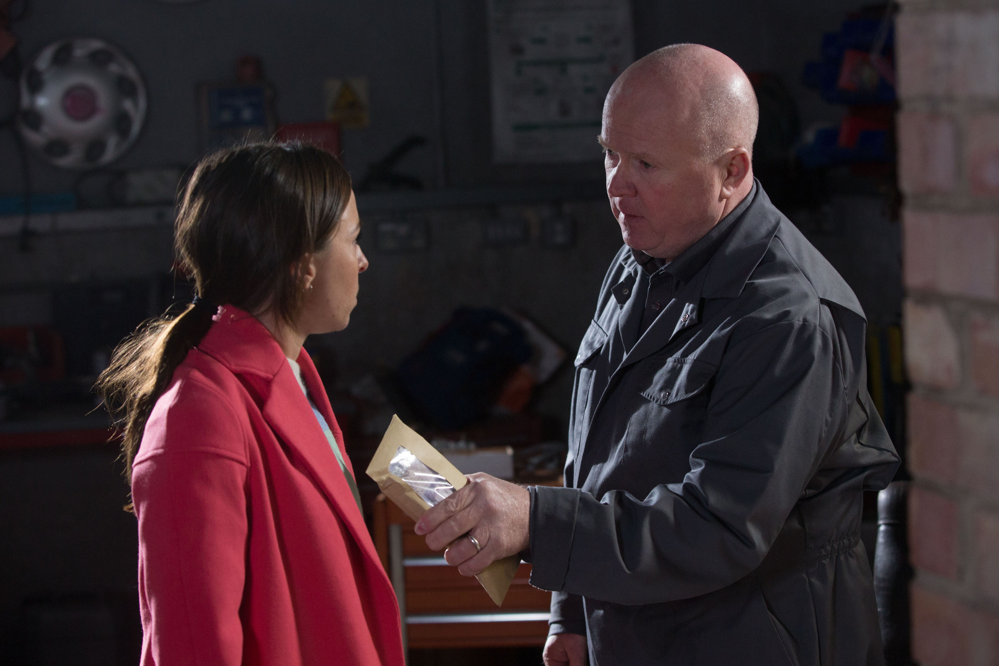 Who was Ruby's dad Johnny Allen in EastEnders and why does Phil Mitchell owe her a favour?