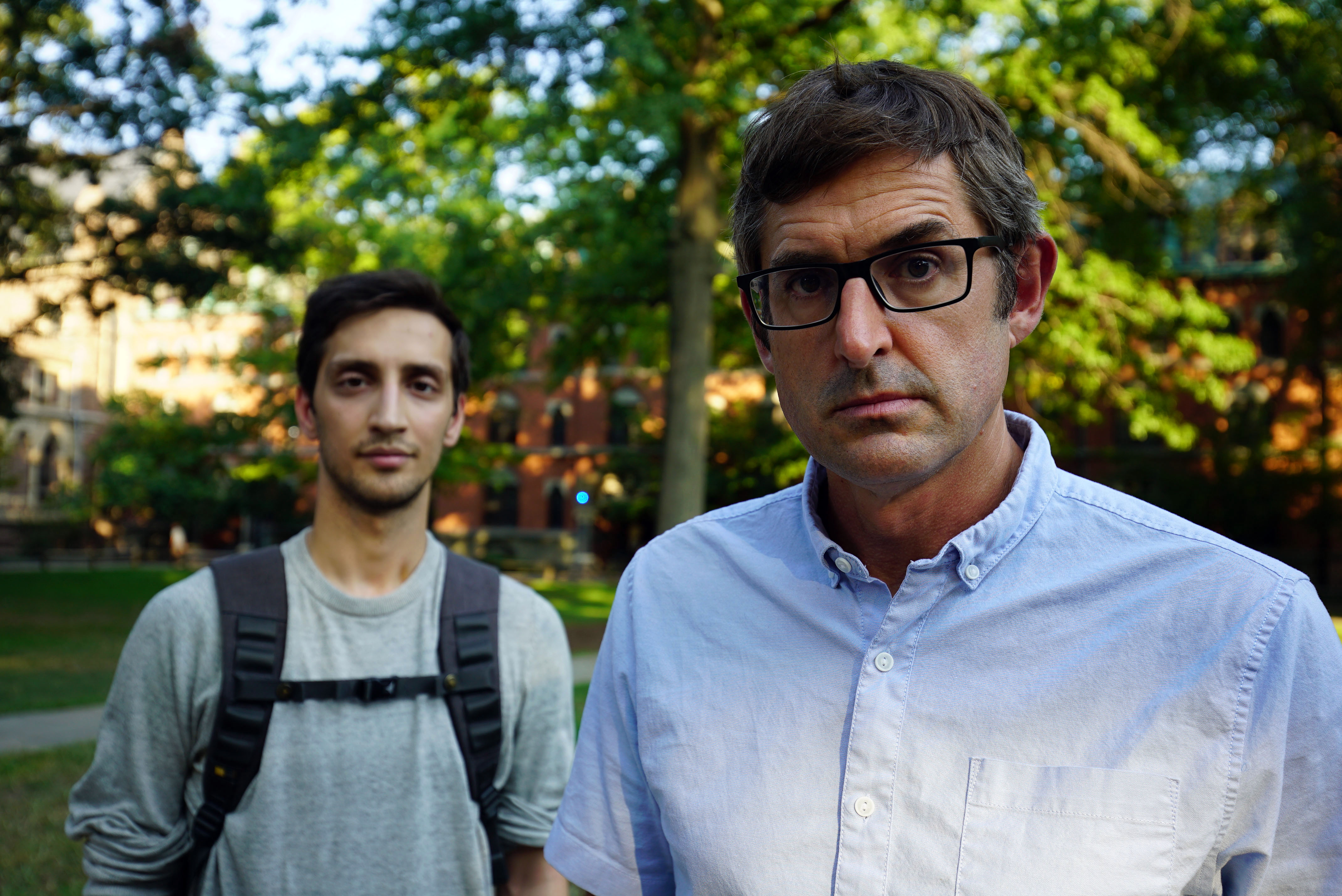 Louis Theroux's latest documentary, The Night In Question