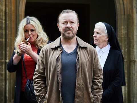 Netflix shares hilarious After Life bloopers as Ricky Gervais show is renewed for second season