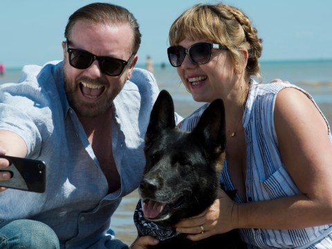 Ricky Gervais defends After Life suicide plot: 'It exists and I treat it respectfully'