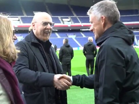 Ole Gunnar Solskjaer meets with Avram Glazer ahead of Manchester United's clash with PSG