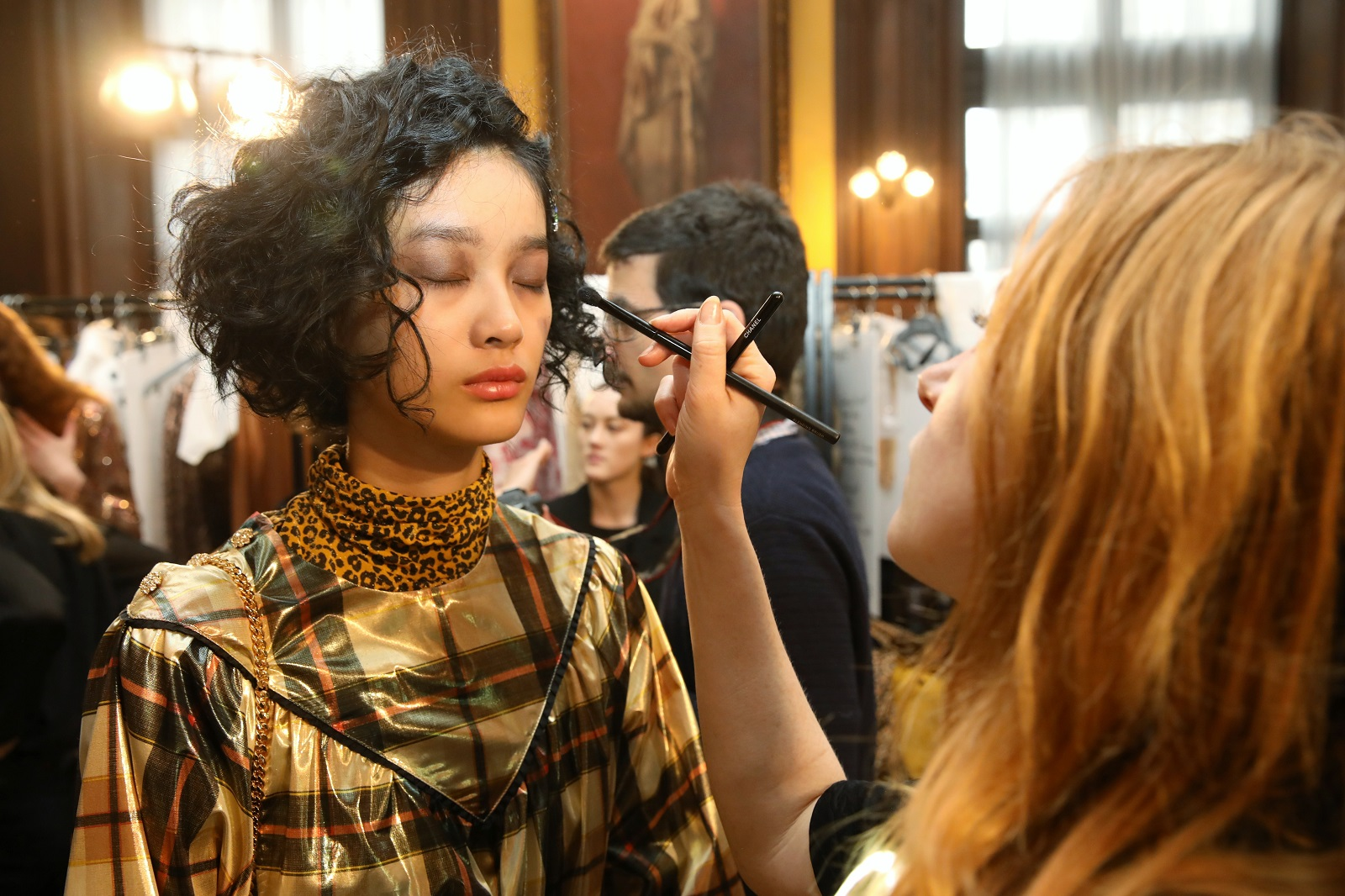 Backstage makeup tips to try from Paris Fashion Week AW19