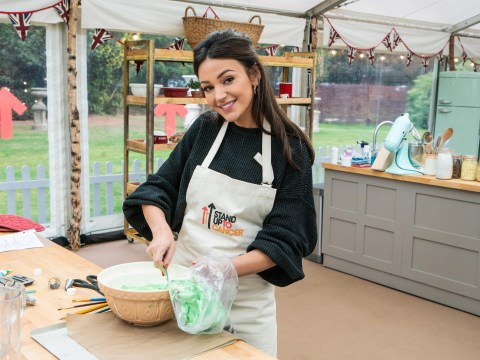 What is Michelle Keegan's next project as she takes on The Great Celebrity Bake Off?