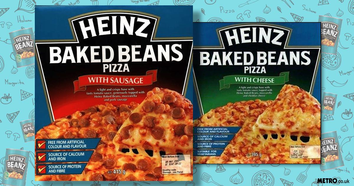 Nostalgia alert: You'll soon be able to order Heinz Beanz pizzas through Deliveroo