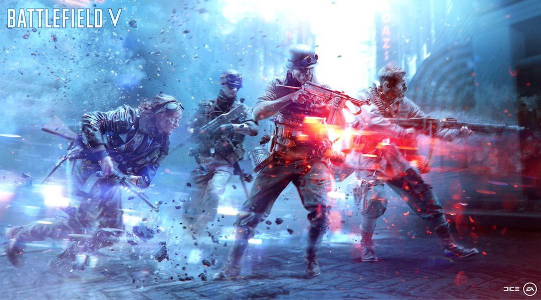 Battlefield V Firestorm battle royale tutorial video leaks