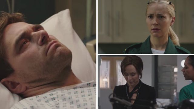 Casualty review with spoilers: Iain's awake – and Gem needs answers