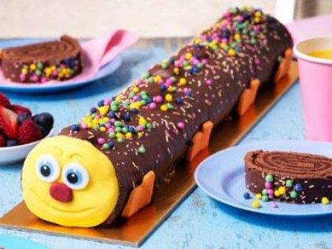 Asda launches a giant caterpillar cake that's over a foot long