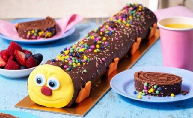 Asda Launches A Giant Caterpillar Cake Thats Over A Foot