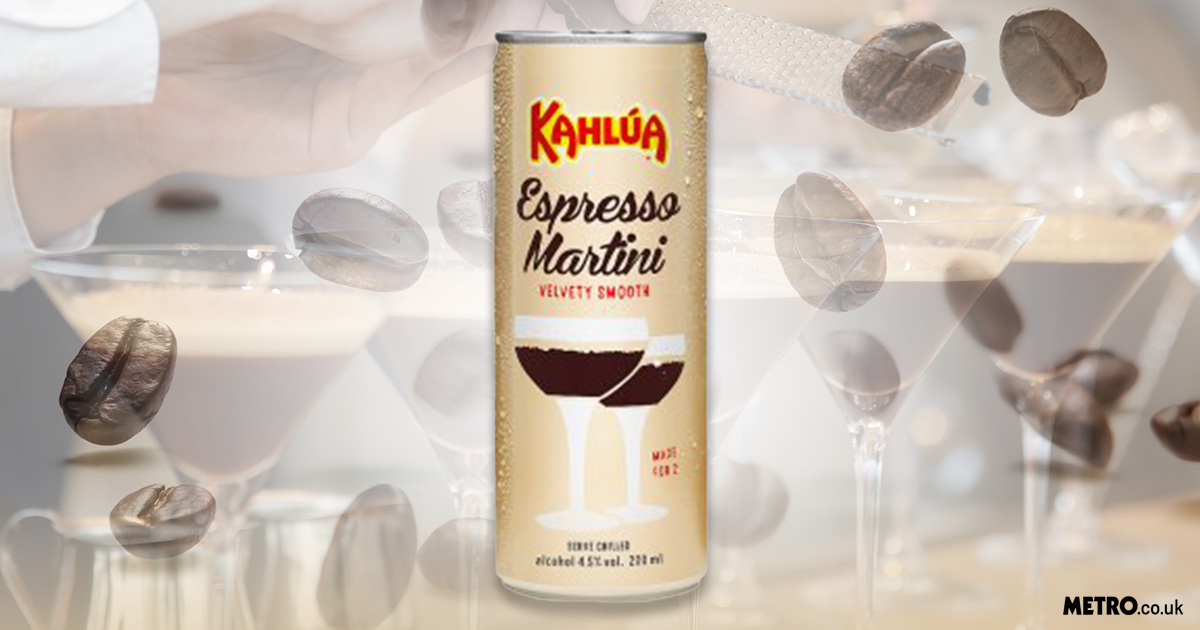 You can now buy Kahlua espresso martini in a can