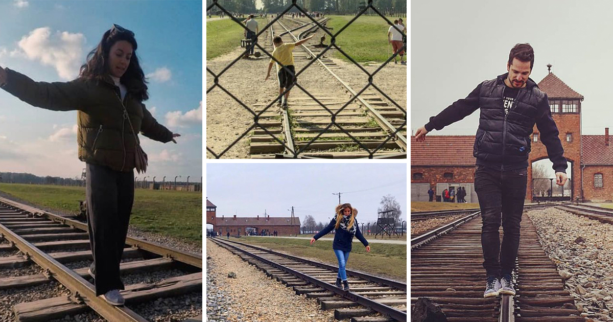 'If you want to learn to walk on a balance beam, Auschwitz is not the place for it'
