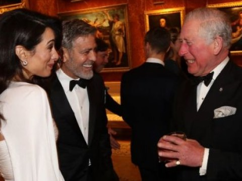 George Clooney and wife Amal enjoy royal date night with Prince Charles at Buckingham Palace