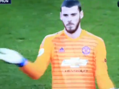 Rivals fans ridicule David de Gea for wind excuse after howler against Arsenal