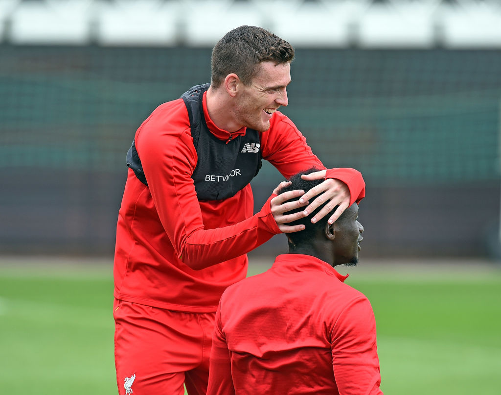 Andrew Robertson not speaking to Sadio Mane after glaring miss in Liverpool win over Burnley