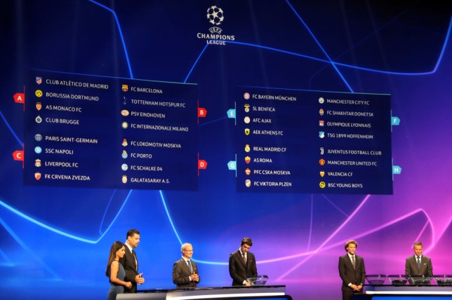 Champions League Auslosung Gruppenphase 2020/16
