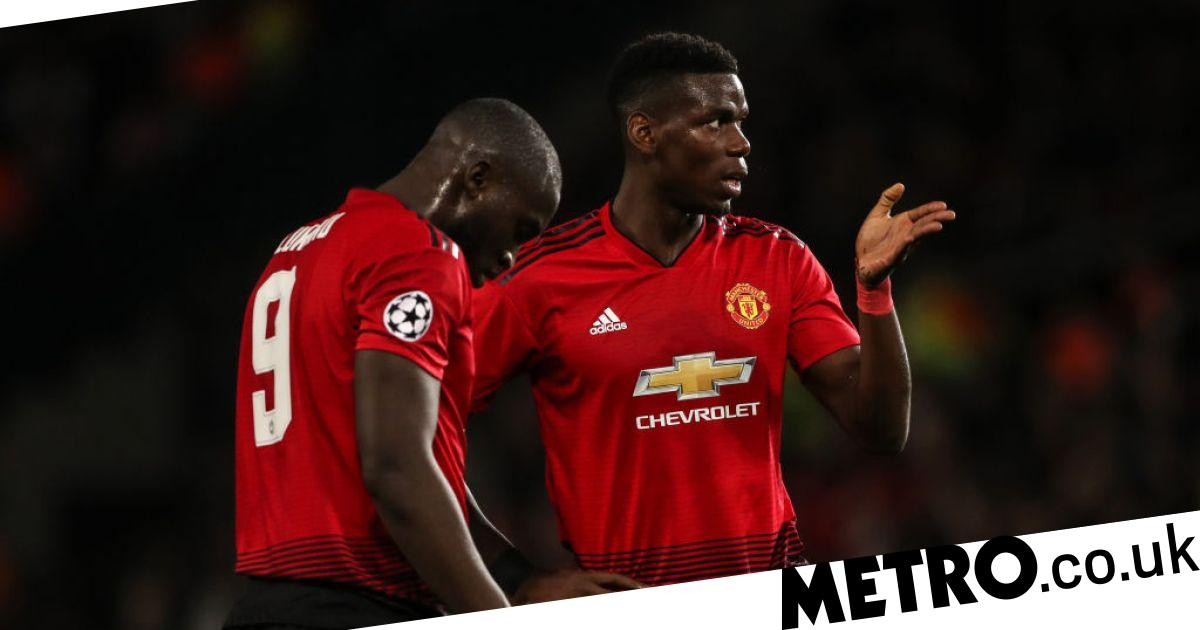 3a94eb4966a Ole Gunnar Solskjaer forced to break up dressing room bust-up between Paul  Pogba and Romelu Lukaku after Southampton win