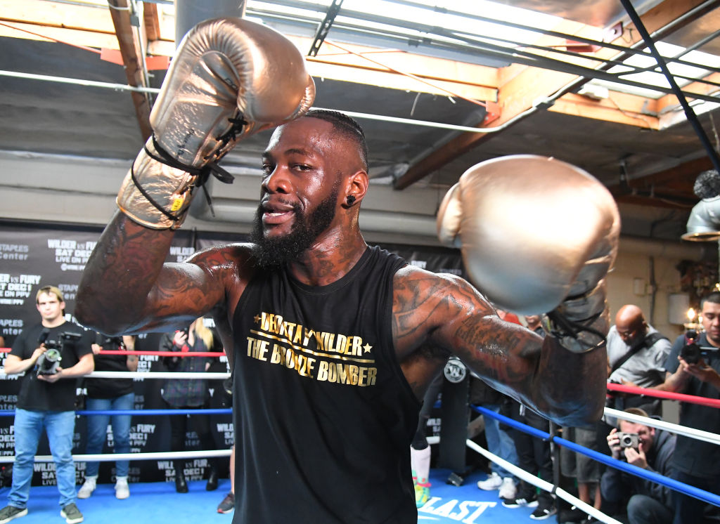 Deontay Wilder rejects DAZN's incredible $100m deal to fight Anthony Joshua
