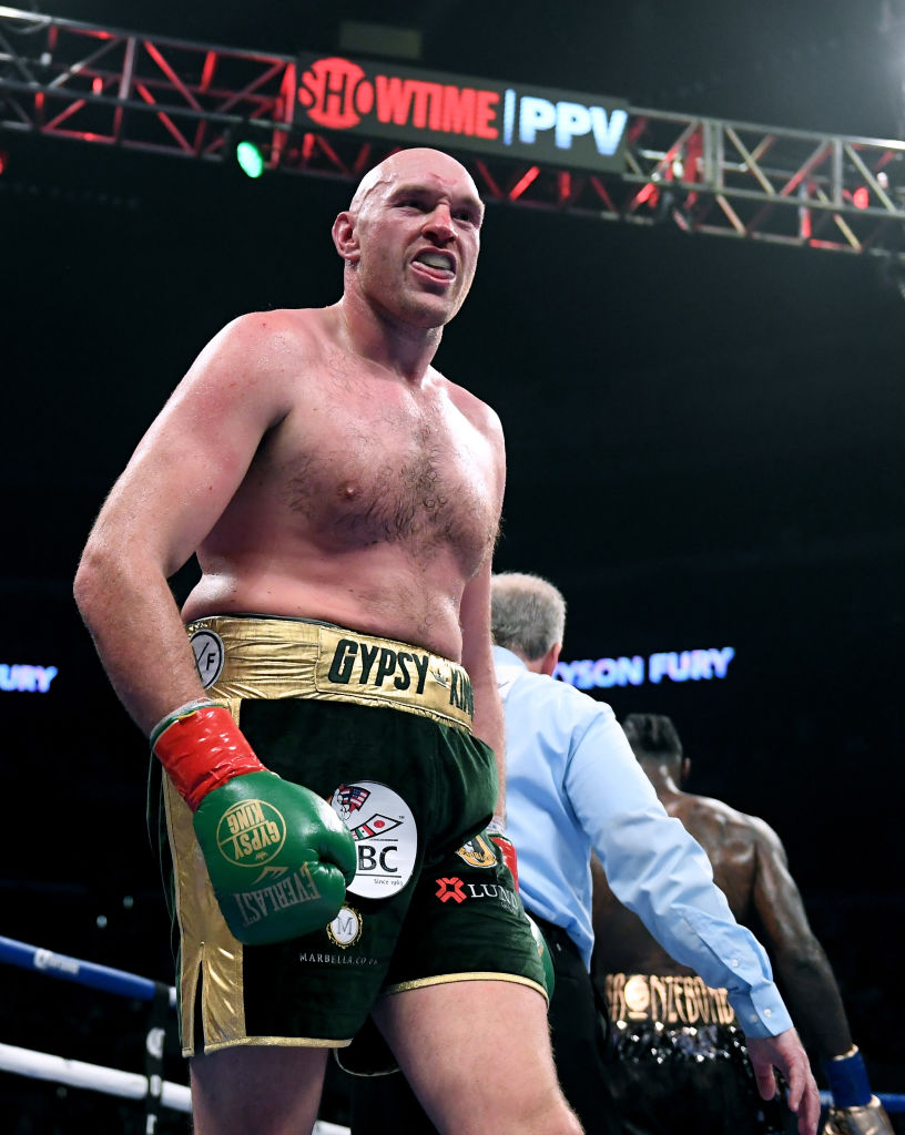 Bob Arum expects Tyson Fury to make ring return in May or June