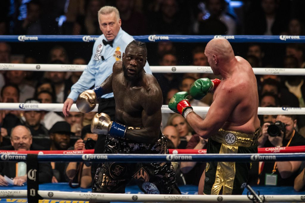 Deontay Wilder aims dig at Tyson Fury after announcing latest heavyweight bout in New York