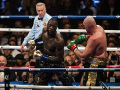 Deontay Wilder aims dig at Tyson Fury after announcing latest heavyweight bout