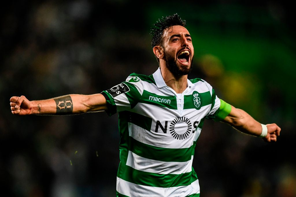 Bruno Fernandes has been in fine goalscoring form this season and is wanted by both Manchester clubs