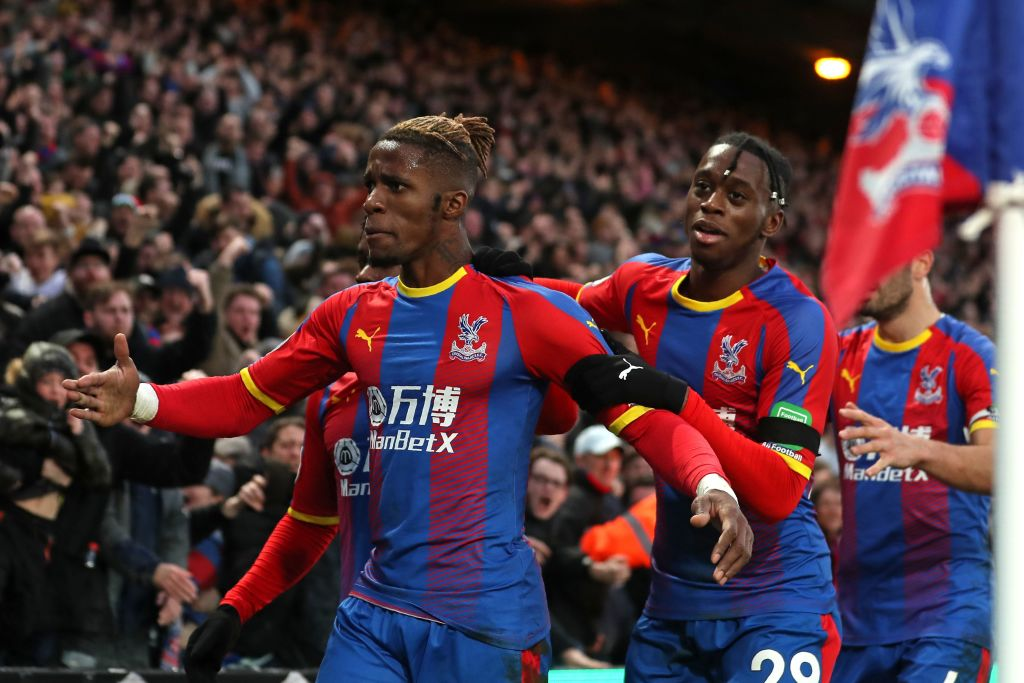 Aaron Wan-Bissaka injury and Wilfried Zaha injury updates provided by Crystal Palace manager Roy Hodgson