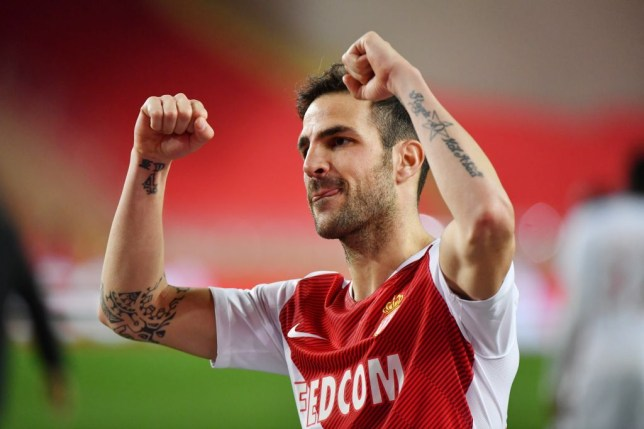 Cesc Fabregas joined Monaco from Chelsea in January