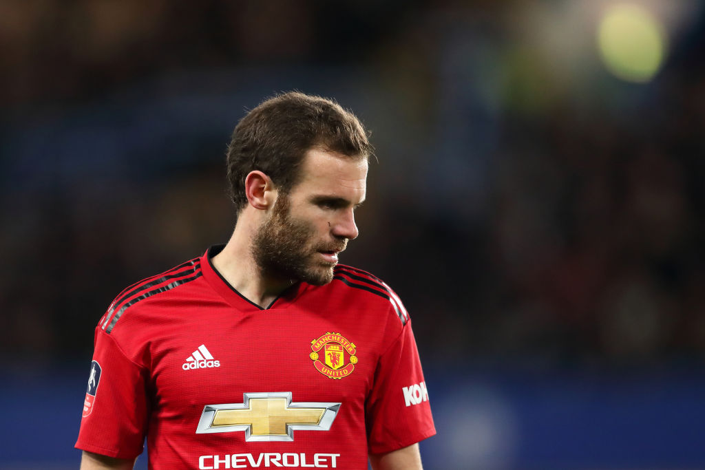 Juan Mata's father insists Manchester United ace would not consider Manchester City or Liverpool moves