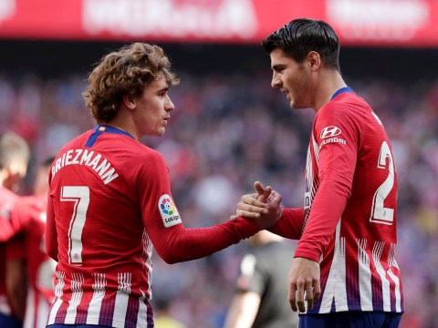 Alvaro Morata sends message to Antoine Griezmann amid Manchester United transfer speculation