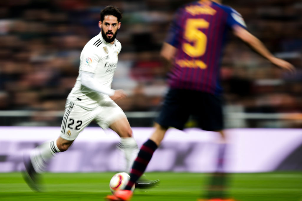 Liverpool and Manchester United want to sign Isco in summer transfer