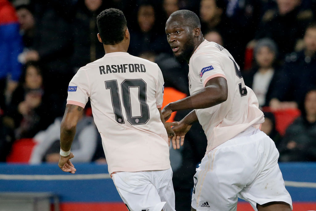 Romelu Lukaku reveals what he told Marcus Rashford after he asked to take PSG penalty