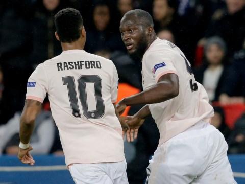 Romelu Lukaku reveals what he told Marcus Rashford after he asked to take PSG penalty